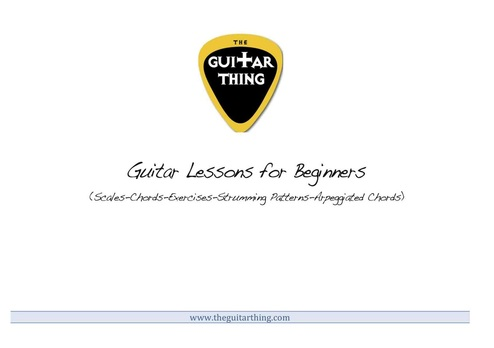 Beginners online guitar lessons